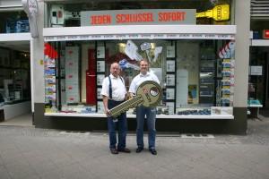 Jürgen und Michael Fagel